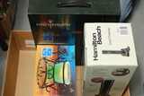 Box With Electric Wine Opener, Candle, Hell's Kitchen 2 Pc. Cake & Loaf Pan Set