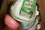 Box Of Dishes & Corningware