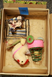 Chick & Cart Assortment Toys In Original Box