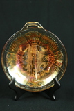Carnival Glass Divided Tray