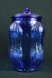 Cobalt Blue Planters Peanut Jar