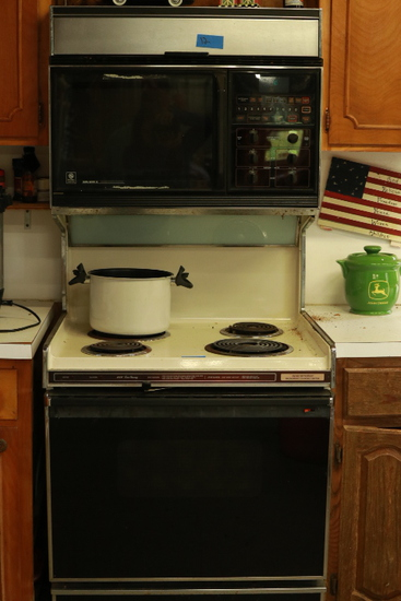 General Electric Microwave/Stove Combo