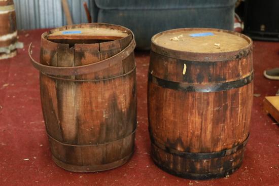 2 Barrel Kegs
