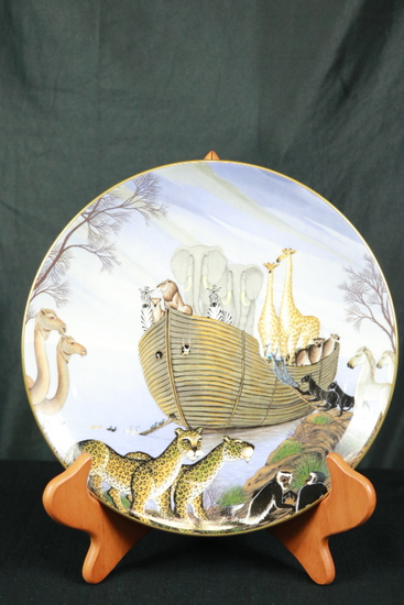 "Royal Doulton Plate "" The Ark"""