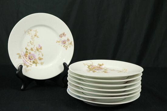 8 Limoge Dessert Plates