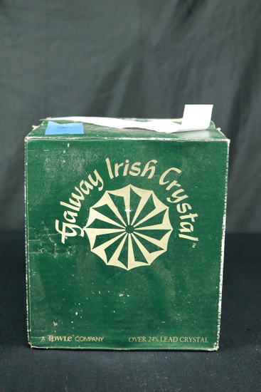 4 Galway Irish Crystal Stems