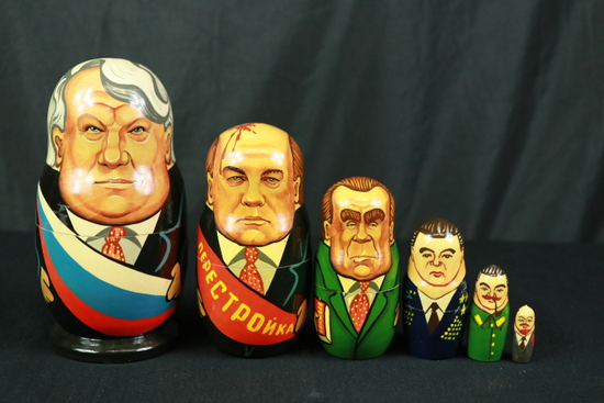 Russian Leader Nesting Dolls