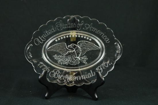 Bicentennial Butter Dish