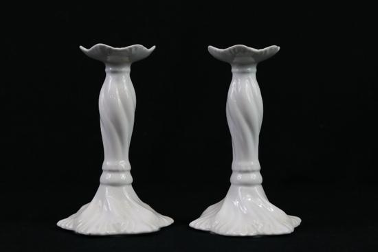 Pair Of Kaldun & Bogle Candle Stick Holders