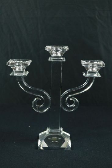 Shannon Crystal Candleabra
