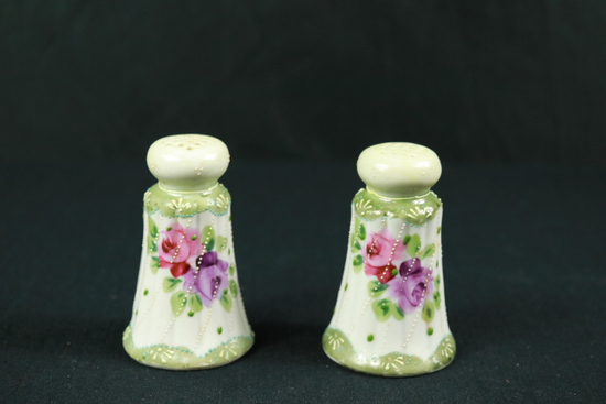 Hand Painted Salt & Pepper Shakers