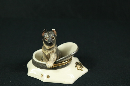 Puppy On Patrol Figurine
