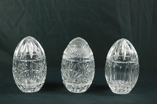 3 Crystal Eggs