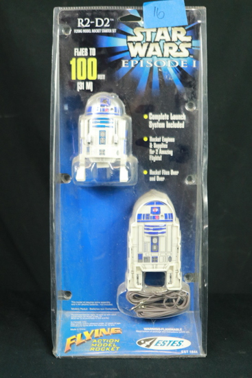 R2-D2 Flying Model Rocket Starter Set