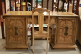 Knee Hole Desk With Chair