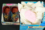 Pair Of Baby Shoes & Linens