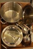 Box Of Pots & Pans