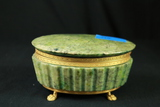 Stone Footed Jewelry Box