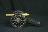 Cast Iron & Brass Model Cannon