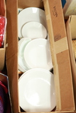 Box Of Assorted Plates