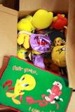 Box Of Tweety Bird Stuffed Animals