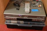DVD/VCR Combo With VHS Tapes