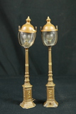 2 Model Railroad Lights With Globes