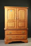 Oak Entertainment Cabinet