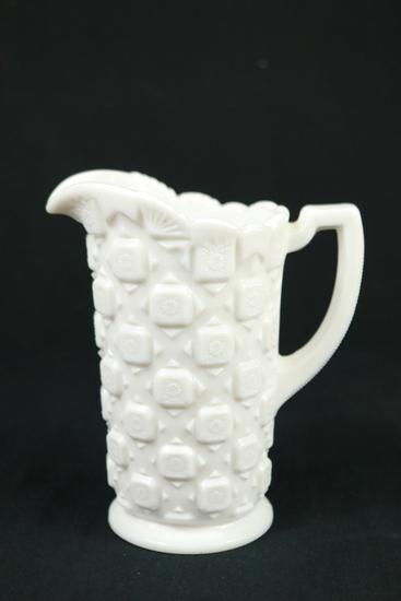 Westmoreland Milk Glass Pitcher