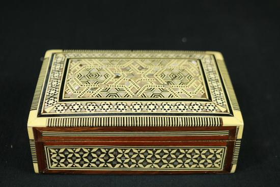 Inlay Trinket Box