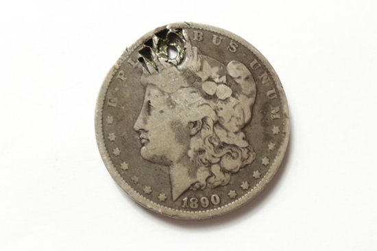 1890 Morgan Dollar