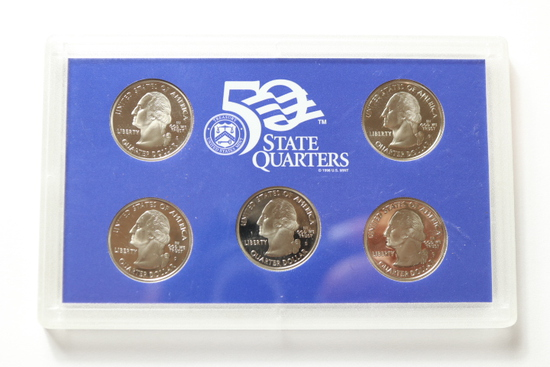 2005 Quarter Proof Set