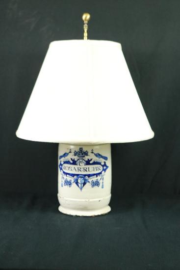 Crock Lamp