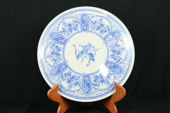 "Spode Blue Room Collection ""Prince Alber"" Cake Plate"
