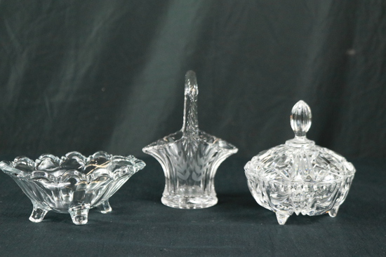 3 Piece Glassware