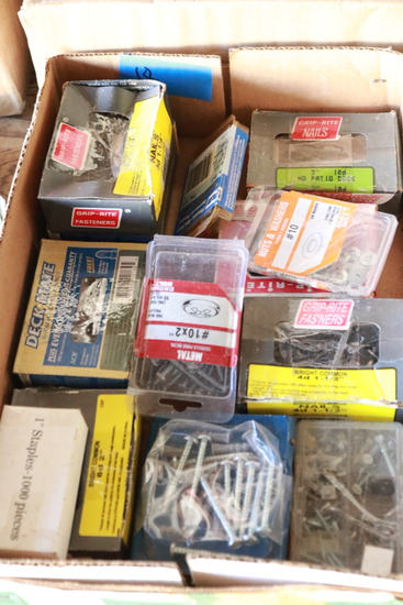 Assorted Nails & Screws