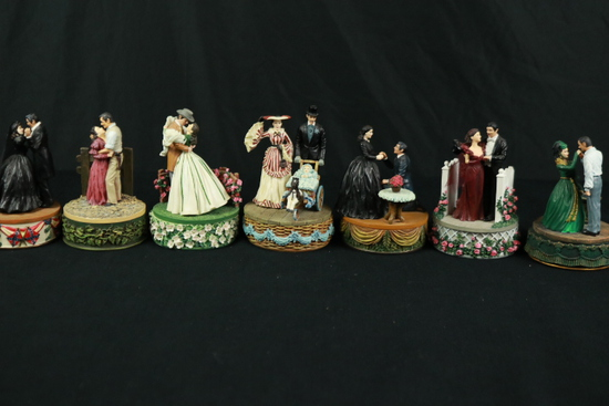 Gone With The Wind Figurines Music Box
