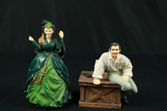 Pair Of Gone With The Wind Figurines