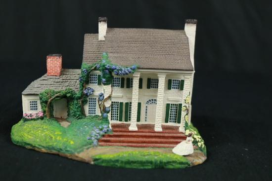 Gone With The Wind Tara Homestead House Figurine