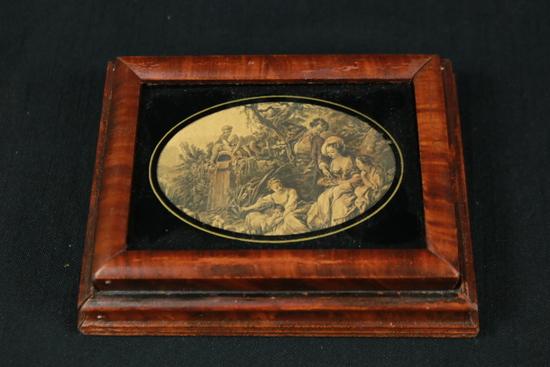 Victorin wooden box
