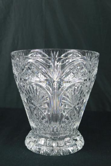 Large Crystal Vase
