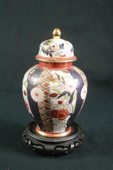 Japanese Vase On Stand