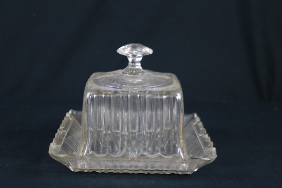 Crystal Covered Dish