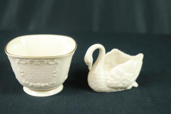 Lenox Swan & Lenox Bowl