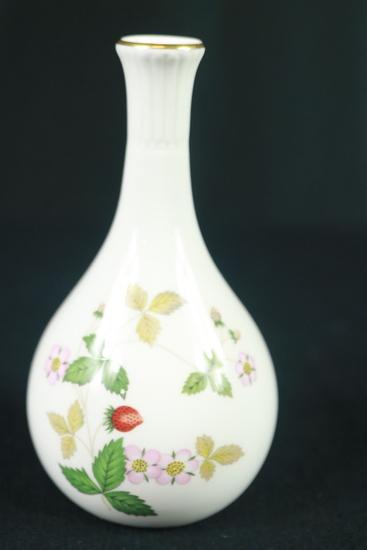 """Wedgwood """"Wild Strawberry"""" Pattern Vase"""