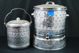 Metal Coffee Pot & Bucket