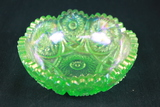 Signed Carnival Glass Bowl