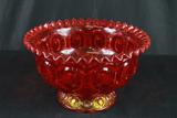 Ruby Glass Bowl