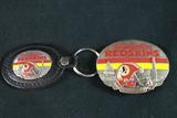 Redskins Belt Buckle & Redskins Keychain