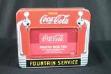 Coca Cola Photo Box Tin